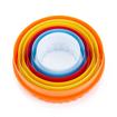 Imagem de Cortador em Plástico Redondo 2 Lados Liso e Crespo 5pçs  FT076 - SILVER