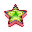 Imagem de Cortador em Plástico Estrela 5pçs  FT081 - SILVER